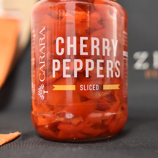 Carara Cherry Peppers Sliced