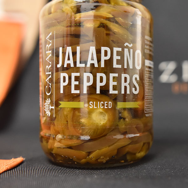Carara Jalapeno Peppers Sliced